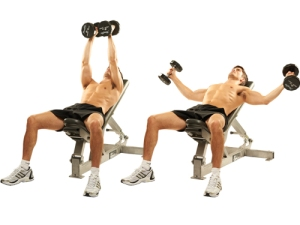 The Flat Dumbbell Fly